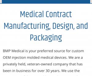 BMP Medical Website